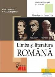 Manual romana clasa 11 2006 - Emil Ionescu Victor Lisman