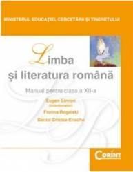 Manual romana Clasa 12 - Eugen Simion Florina Rogalski Daniel Cristea-Enache