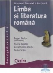 Manual romana Clasa 9 - Eugen Simion Florina Rogalski Daniel Cristea-Enache