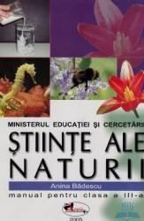 Manual stiinte ale naturii clasa 3 - Anina Badescu