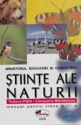 Manual Stiinte ale naturii clasa 3 - Tudora Pitila Cleopatra Mihailescu