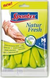 Manusi Natur Fresh pentru menaj din latex natural Spotex L Curatenie Bucatarie