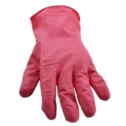 Manusi latex menaj marimea S rosu Marigold Curatenie Bucatarie