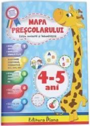 Mapa prescolarului 4-5 ani