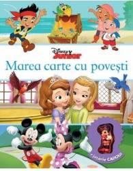 Marea carte cu povesti - Disney Junior + Jucarie Cadou