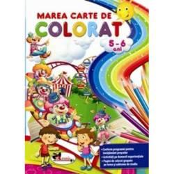 Marea Carte De Colorat 5 6 Ani
