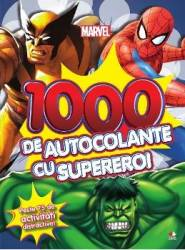 Marvel - 1000 de autocolante cu supereroi