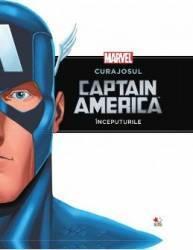 Marvel - Curajosul Capitan America - Inceputurile