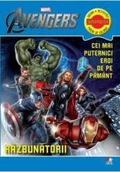 Marvel - Razbunatorii. Cei mai puternici de pe pamant - Jocuri activitati pagini de colorat