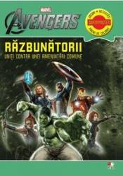 Marvel - Razbunatorii. Uniti contra unei amentintari comune - Jocuri activitati pagini de colorat