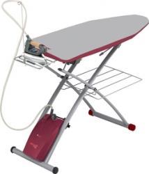 Sistem de Calcat Integrat Polti Vaporella Power System Talpa Aluminiu 2440 W 1.5l 3 BAR Jet Abur 110 grmin Resigil masa de calcat accesorii