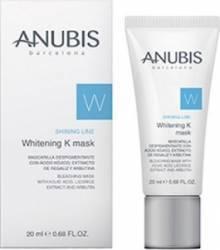 Masca de fata Anubis Shining Line Whitening K Mask Masti, exfoliant, tonice