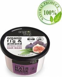 Masca de par Organic Shop Bio pentru Stralucire cu Migdale si Smochine 250 ml Masca