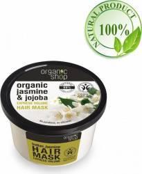 Masca de par Organic Shop  Bio pentru Volum cu Iasomie indiana si Jojoba 250 ml Masca