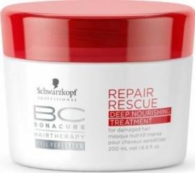 Masca de par Schwarzkopf Professional Bonacure Repair Rescue Deep Nourishing 200ml