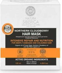 Masca Natura Siberica reparare intensiva par deteriorat Vopsit Northern Cloudberry 120ml Masca