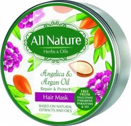 Masca de par All Nature Angelica and Argan oil 200ml