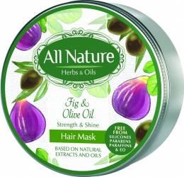 Masca de par All Nature Fig and Olive oil 200ml
