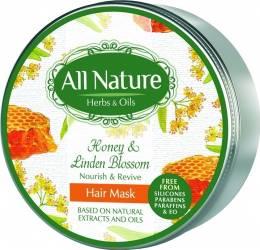 Masca de par All Nature Honey and Linden blossom 200ml
