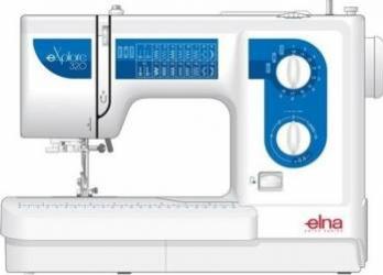 Masina de cusut casnica electro-mecanica ELNA Explore 320 Masini de cusut