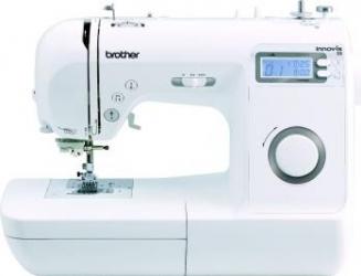 Masina de cusut Brother INNOV-IS 35 70 de tipuri de cusaturi 7 tipuri de butoniera cu reglaj fin Alb