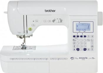 Masina de cusut Brother innov-is f410 100 de cusaturi Afisaj LCD Sistem de introducere a atei in ac Alb Masini de cusut