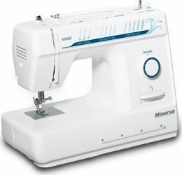 Masina de cusut Minerva Hobby 9 programe 800 imp-min Alb