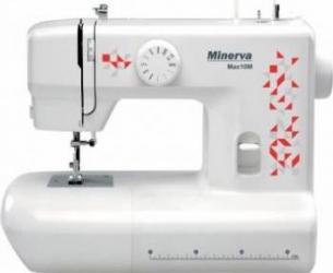 Masina de cusut Minerva Max10M 10 programe 800 imp/min Alb/Rosu Masini de cusut