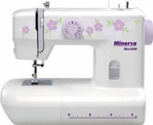 Masina de cusut Minerva Max20M 13 programe 800 imp-min Alb