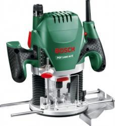 Masina de frezat Bosch POF 1400 ACE 1.4kW Slefuitoare si rindele