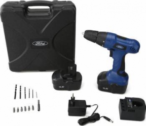 Masina de gaurit si insurubat Ford Tools FS50-NICD 2 acumulatori x 1200 mAh