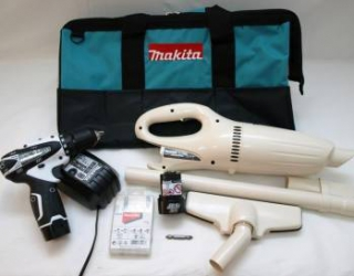 Masina de Gaurit si Insurubat Makita DF330DZ+aspirator Masini de gaurit si insurubat