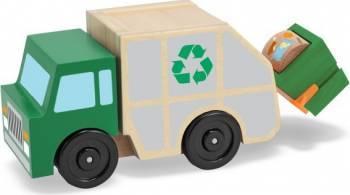 Masina de gunoi din lemn Melissa and Doug Machete