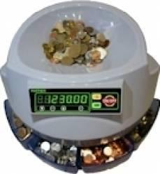 Masina de numarat si sortat monede Partner 123 Alba Masini de numarat bani