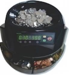 Masina de numarat si sortat monede Partner 123 Neagra Masini de numarat bani