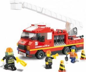 Masina de pompieri cu scara Sluban Fire M38-B0221