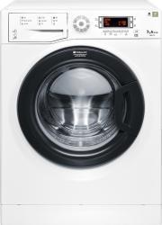 Masina de spalat rufe Slim Hotpoint WMSD723B 1200 RPM 7 kg Clasa A+++ Display LED Alb Masini de spalat rufe