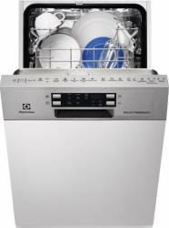 Masina de spalat vase Electrolux ESI4620ROX 9 Seturi Clasa A++ 45 cm 6 programe Inox