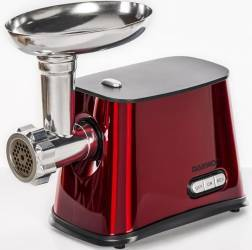 Masina de tocat carne Daewoo 1300 W 1 kg/min Accesoriu carnati 3 Discuri de taiere Rosie Masini de tocat