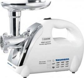 Masina de tocat Naumann NM-120 1500W 1.5kg-min Functie revers Alb Resigilat