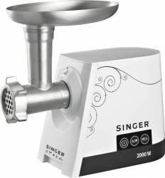 Masina de tocat carne Singer SMG-2000 2000W 3 Kg/min Resigilat