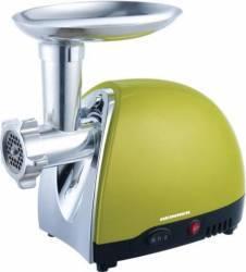 Masina de tocat Heinner CHARM MG1500TA-GR 1600W 1.2kg-min Functie revers, Accesorii Rosii si Carnati Verde Masini de tocat