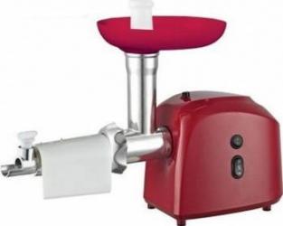 Masina de tocat Victronic MG239 accesorii rosii si carnati 1200 W Rosie Masini de tocat