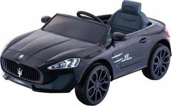 Masina Electrica Copii Moni Grande Roti EVA Negru Masinute si vehicule pentru copii
