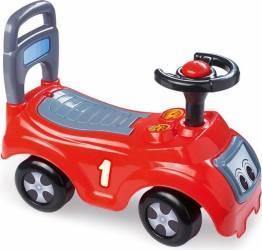 Masina fara pedale DOLU realizata din plastic rezistent Rosie Masinute si vehicule pentru copii