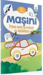 Masini - Prima carte de colorat cu abtibilduri 2 ani+