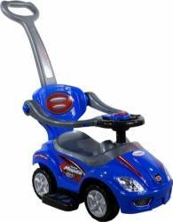 Masinuta de impins ARTI 382 Mega Car Deluxe - Albastru Masinute si vehicule pentru copii