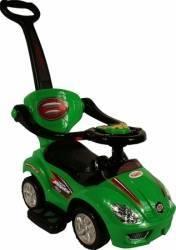 Masinuta de impins ARTI 382 Mega Car Deluxe - Verde Masinute si vehicule pentru copii