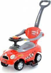 Masinuta de impins EURObaby 321 Mini Cooper - Rosu Masinute si vehicule pentru copii