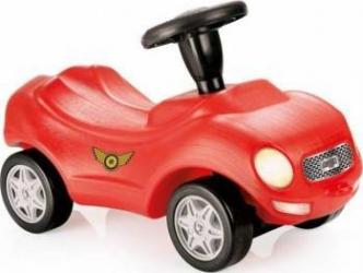 Masinuta DOLU Racer ride-on car prevazuta cu claxon Rosu cu negru Masinute si vehicule pentru copii
